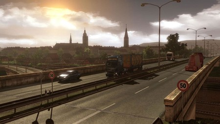 Paisaje de Euro Truck Simulator 2