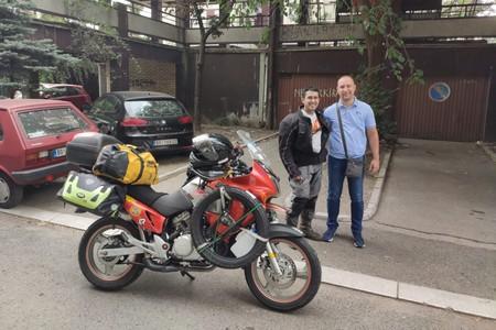 Pedro Esteban Mongol Rally 14 9