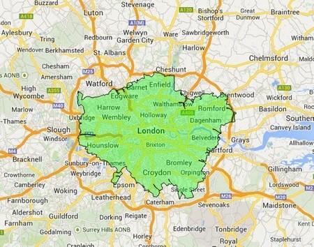Londres: zona de bajas emisiones
