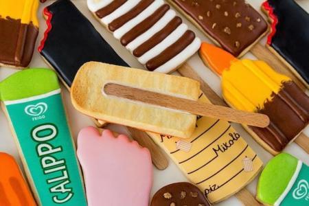Los '80 molaron y sus helados más. Ahora vienen en forma de galleta