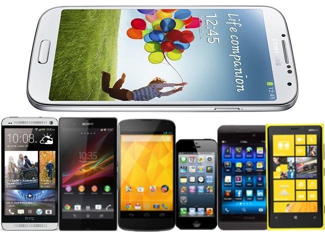 Comparativa Samsung Galaxy S4 versus rivales