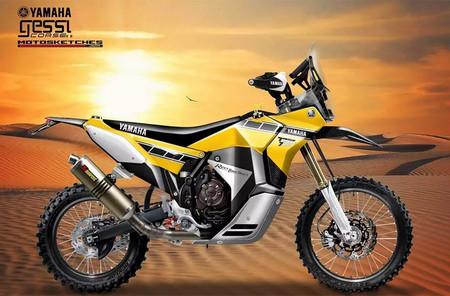 La Yamaha Ténéré 700 Rally Racer es la preparación al más puro estilo dakariano que está tramando Gessi Moto