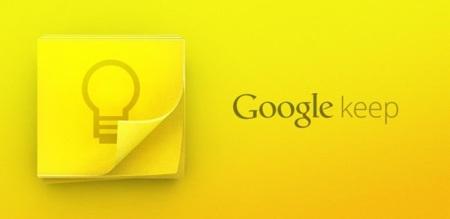 Google Keep 2.2 para Android añade buscador de textos en fotos, ajustes de lista, papelera y más