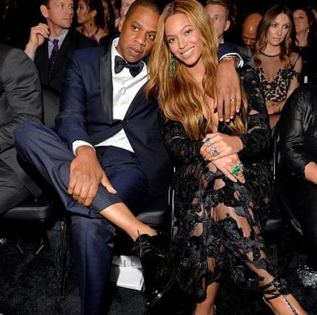Jay Z Y Beyonce Grammys 2015