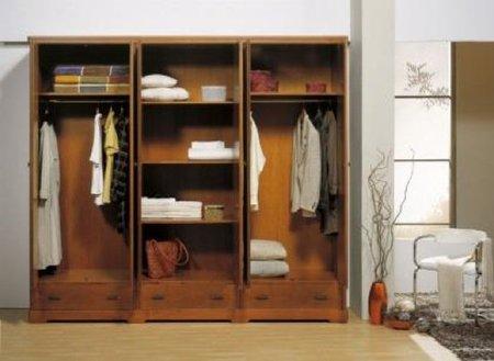 vestidor poco espacio