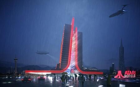 Nuevo Hotel Atari Vegas Parece Sacado Blade Runner 2105643