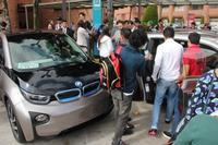 BMW instala nueva estación de carga para vehículos eléctricos, ahora en la Ibero.
