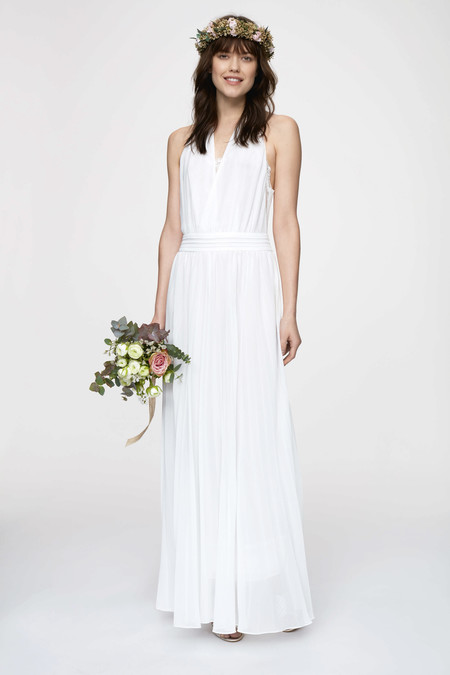 vestido de novia kiabi