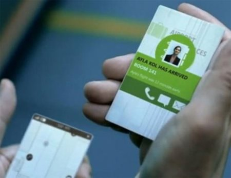 Microsoft nos enseña las interfaces y teléfonos del futuro