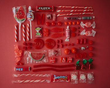 Sugar Series, golosinas organizadas por colores para saltarnos la dieta de forma ordenada