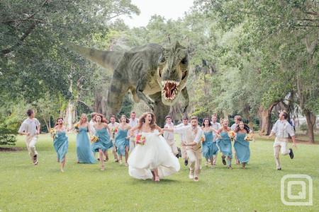 Ciencia ficción en la fotografía de bodas, ¿última tendencia o una horterada descomunal?