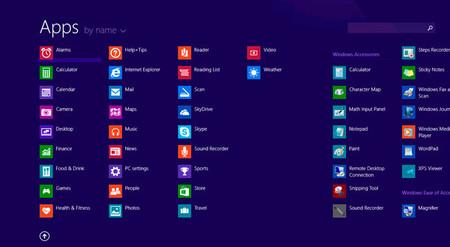 Windows8.1 Todos los programas