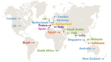 Y la palabra más usada en LinkedIn en España en el 2012 es...
