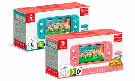 MediaMarkt tiene aún unidades de la Nintendo Switch Lite Edición Especial Animal Crossing en oferta, por 199 euros