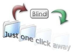 Blind: Para ver los archivos ocultos, con un solo click
