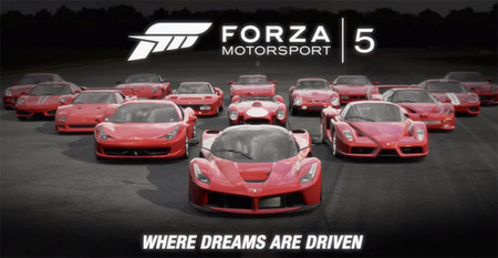Contened el orgasmo: así rinde tributo Forza Motorsport 5 al Ferrari LaFerrari