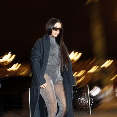 Si creías haberlo visto todo, espera al último (y estrambótico) estilismo de Kim Kardashian