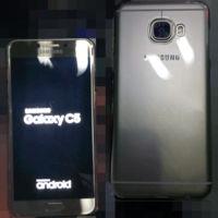 Las primeras fotos del Samsung Galaxy C5 nos dejan ver una estética que nos suena de algo