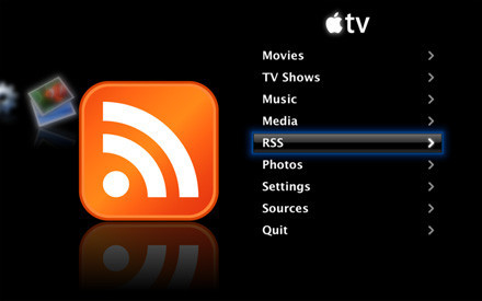 Lector RSS para el Apple TV