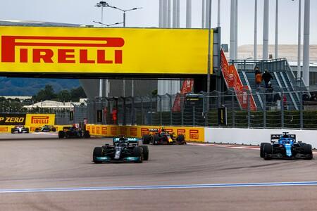 Hamilton Rusia F1 2021