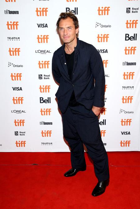 Jude Law Se Presenta Con Su Peor Look Hasta Ahora En El Festival De Cine De Toronto 2