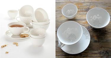 La delicada porcelana de arroz de Eeva Jokinen