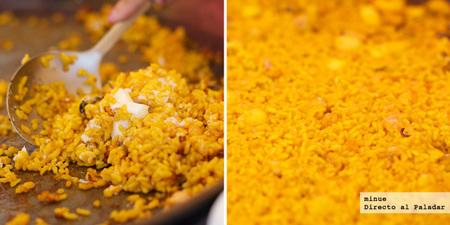 Restaurante vora riu pinedo - detalle del arroz del señorito