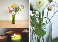 Recicladecoración: jarrones, vasos y portavelas hechos con viejas botellas