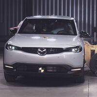 Euro NCAP estrella el SUV eléctrico Mazda MX-30 y el Honda Jazz híbrido, y ambos logran la máxima nota en seguridad