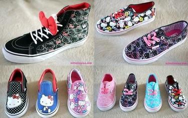 Zapatillas Vans de Hello Kitty para la temporada primavera-verano 2012