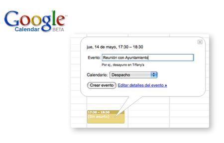 Google Calendar, compartiendo calendarios