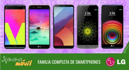 LG G6, así encaja dentro del catálogo completo de smartphones LG en 2017