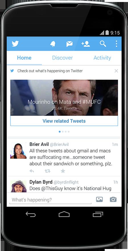 Cada vez que recargas tu timeline, Twitter hace dinero