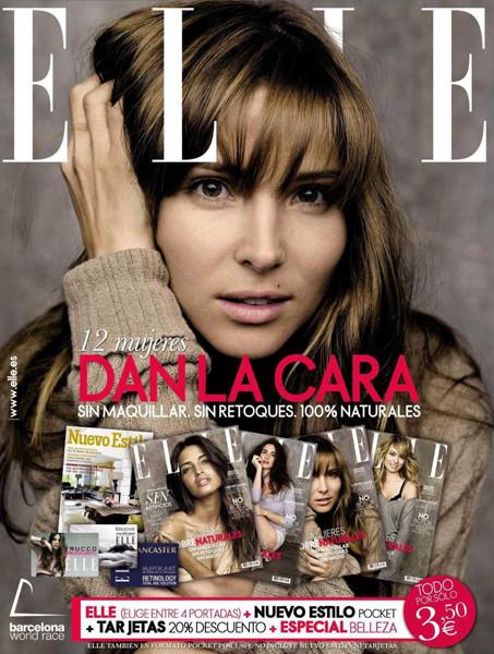 Foto de Elsa Pataky, Patricia Conde, Paz Vega y Sara Carbonero naturales en la portada de Elle España (1/4)