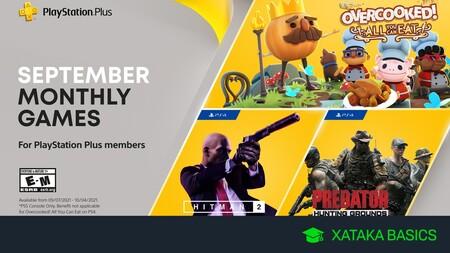 Juegos gratis de PS4 y PS5 en septiembre 2021 para PlayStation Plus