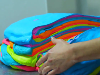 Rainbow Bagels: en tu próximo viaje a NYC, cómete todos los colores del arco iris de un bocado
