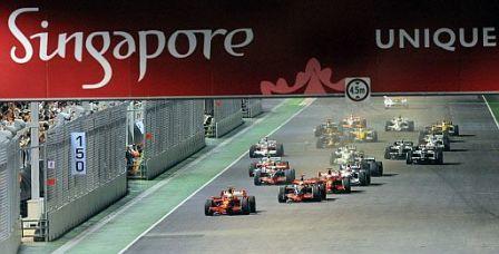 Cambios en el circuito de Singapur para 2009