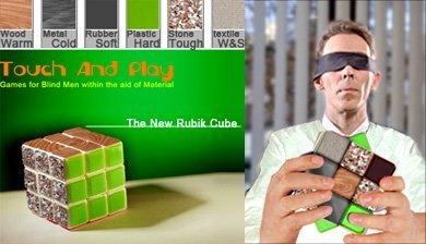 Cubo Rubik táctil