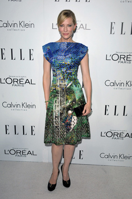 cate blanchett fiesta Elle Women in Hollywood 2012