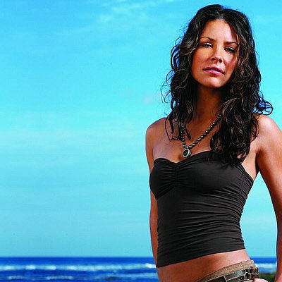Evangeline Lilly para Davidoff Cool Water