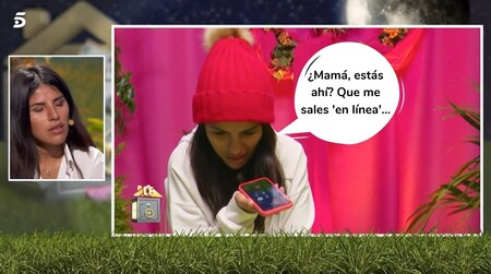 Isa Pantoja, rota y decepcionada con su madre en 'La Casa Fuerte' por negarse a hablar con ella