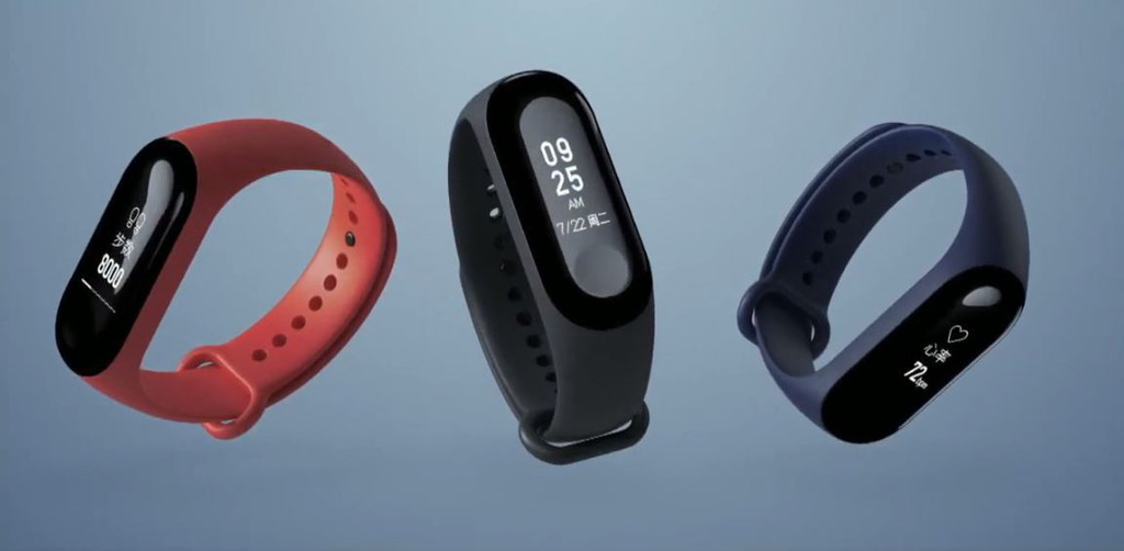 Xiaomi Mi Band 4 is again filtered and points to a colour screen and support for voice commands