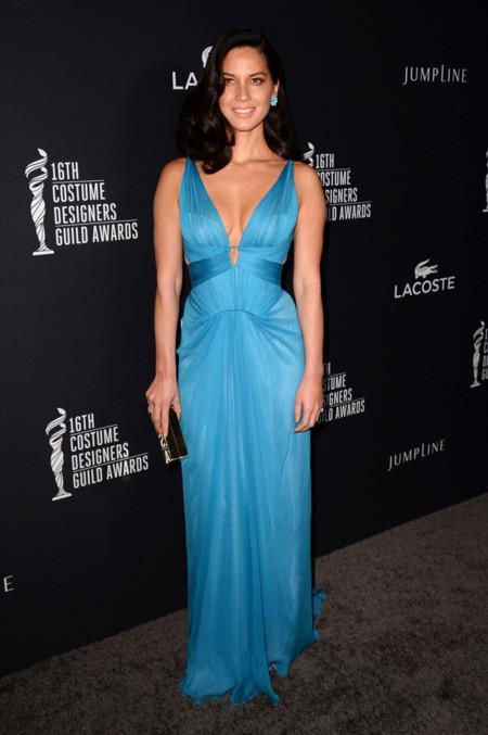 Olivia Munn Costume Designer Guild Awards 2014