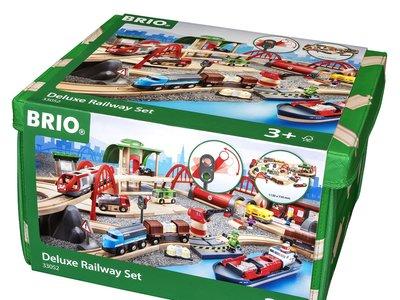 Set circuito de tren deluxe de la marca Brio por 153,92 euros y envío gratuito