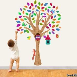 Vinilos decorativos para dar un toque primaveral a la habitación infantil