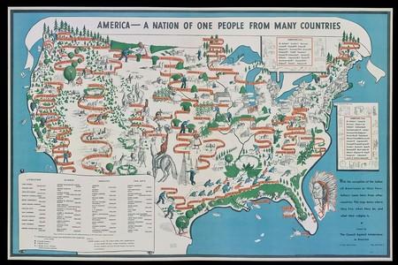 Mapa Inmigracion