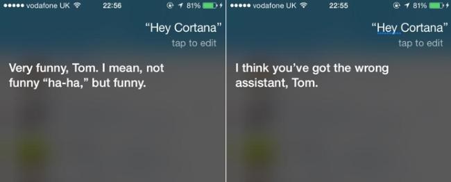 Cortana Siri 2