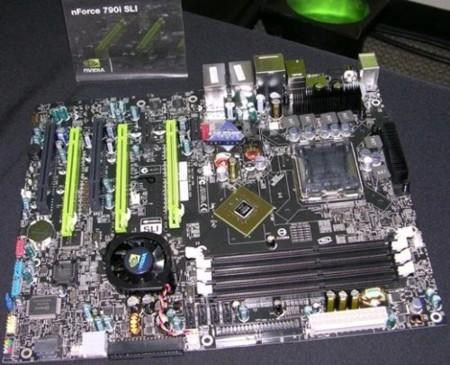 Chipset NVidia nForce 790i, para el segundo cuarto del 2008
