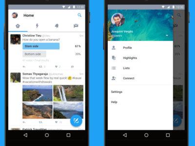 Los mensajes directos de Twitter ya soportan la respuesta directa de Android N