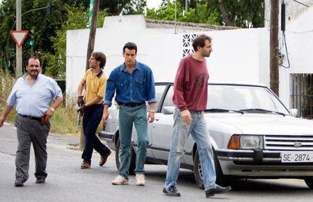 Joaquín Núñez, José Manuel Poga, Mario Casas y Julián Villagrán en Grupo 7